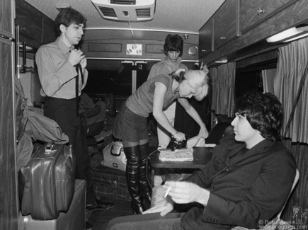 Chris Stein, Jimmy Destri, Debbie Harry and Clem Burke, Toronto - 1977