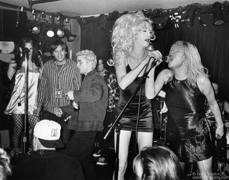 Evan Dando, Billie Joe Armstrong, Mistress Formika & Courtney Love, NYC - 1994