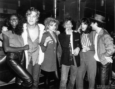 David Johansen, Nina Hagen, Johnny Thunders, Kate Simon & Syl Sylvain, NY - 1980