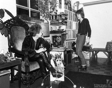 Malcolm McLaren & David Johansen, NYC - 1977