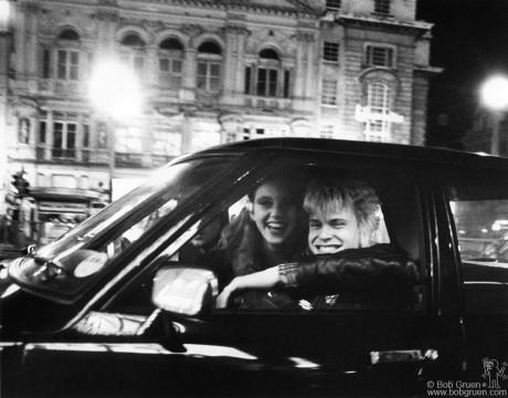 Bebe Buell & Billy Idol, London - 1978