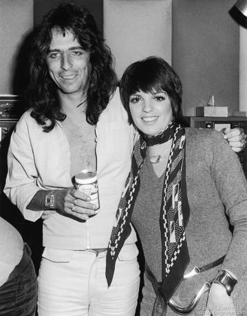 Alice Cooper & Liza Minnelli, NYC - 1973