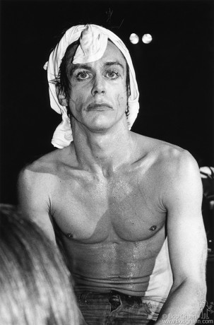 Iggy Pop, NYC - 1977