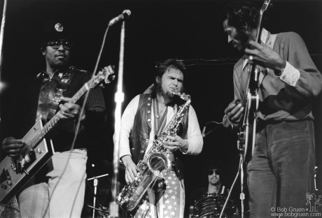 Chuck Berry, Bo Diddley  & Elephant's Memory, NYC - 1972