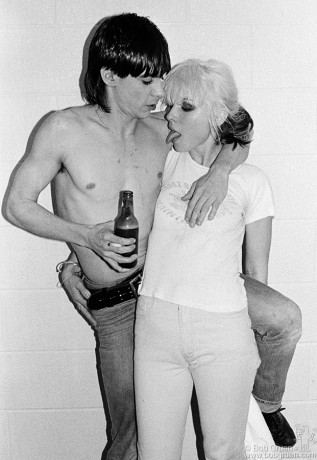 Iggy Pop & Debbie Harry, Toronto - 1977