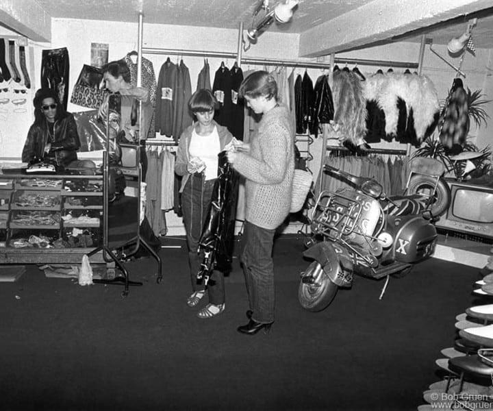 Don Letts, Acme Attractions, London, England. October 1976. <P>Image #: R-452  © Bob Gruen