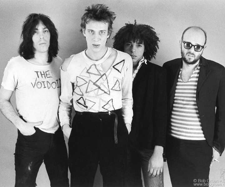 The Voidoids, Westbeth Studio, NYC. January 1977. <P>Image #: R-453  © Bob Gruen