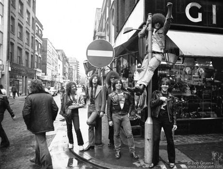 The Dictators, London - 1977