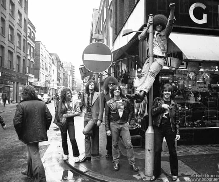 Dictators, London, England. November 1977. <P>Image #: R-454  © Bob Gruen
