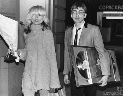 Debbie Harry and Chris Stein, NYC - 1978