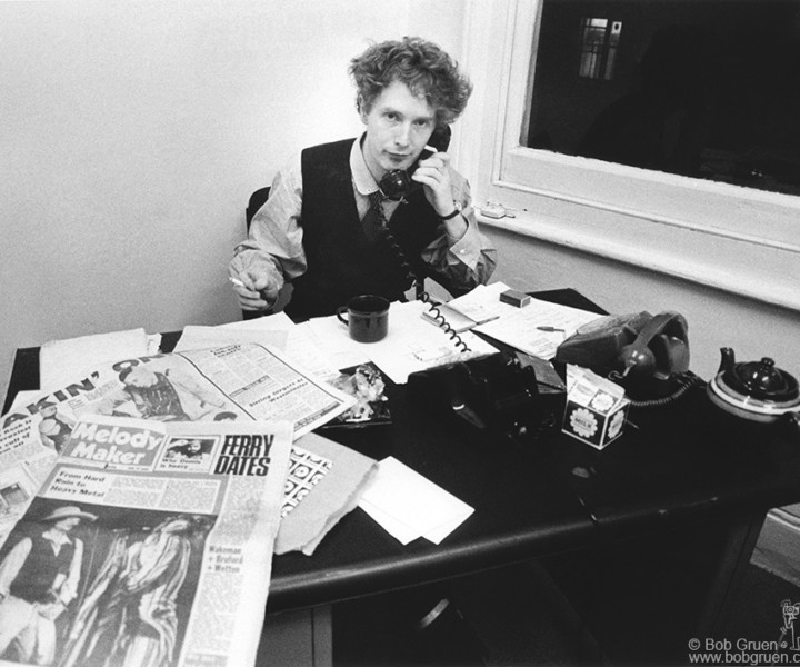 Malcolm McLaren, London, England. October 1976. <P>Image #: R-461  © Bob Gruen