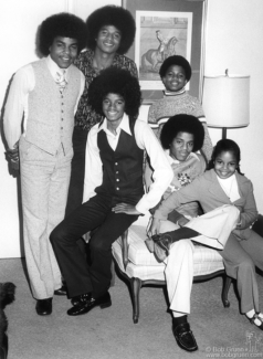 Jackson 5 and Janet Jackson, NYC - 1975