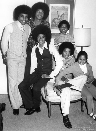 Jackson 5 & Janet Jackson, NYC - 1975