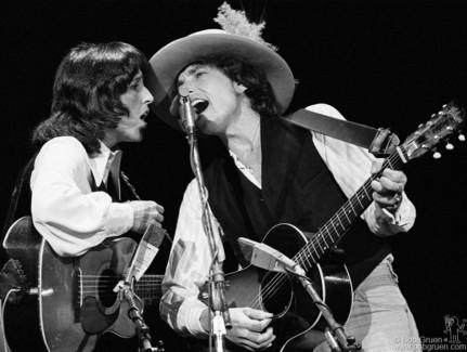 Bob Dylan and Joan Baez, MA - 1975
