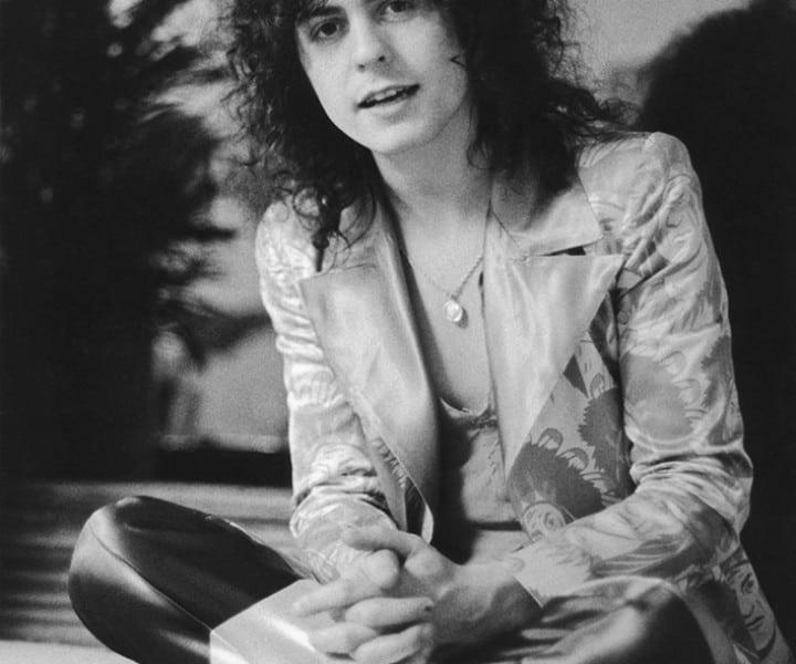 Marc Bolan, NYC. December 10, 1971. <P>Image #: R-503  © Bob Gruen