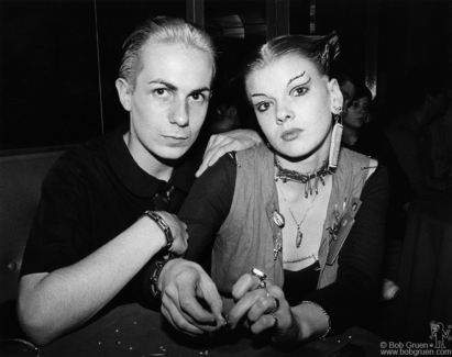 Simon and Soo Catwoman, London - 1976