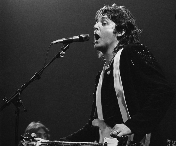 Paul McCartney, MSG, NYC. May 25, 1976. <P>Image #: R-67  © Bob Gruen