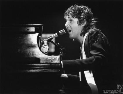 Paul McCartney, NYC - 1976
