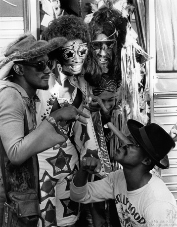 Parliament Funkadelic, NYC - 1977