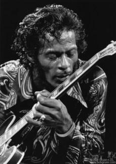 Chuck Berry, NYC - 1971
