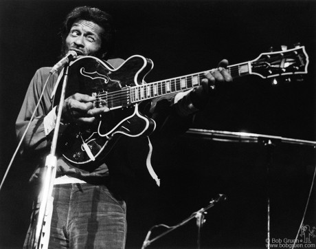 Chuck Berry, NYC - 1972