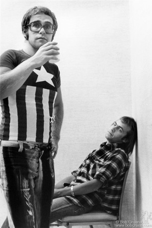Elton John & Bernie Taupin, NYC - 1971