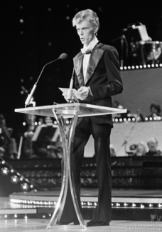 David Bowie, NYC - 1975
