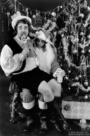Wolfman jack & Alice Cooper, NYC - 1973