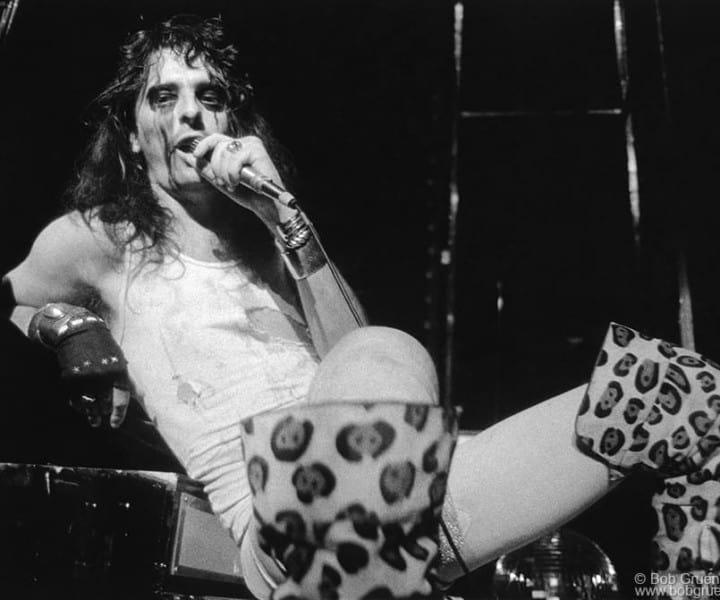 Alice Cooper, MSG, NYC. June 3, 1973. <P>Image #: R-90  © Bob Gruen