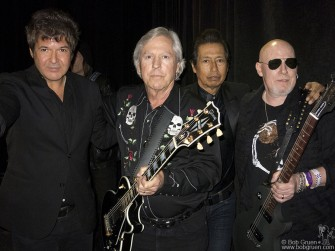 March 13 Austin, TX - Clem Burke, James Williamson, Alejandro Escovedo & Cheetah Chrome during SXSW Austin Music Awards at Austin Convention Center.