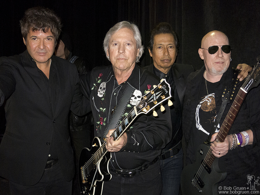 March 13 - Austin, TX - Clem Burke, James Williamson, Alejandro Escovedo & Cheetah Chrome during SXSW Austin Music Awards at Austin Convention Center.