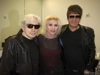 March 12 Austin, TX- Blondie after their SXSW interview at the Austin Convention Center.