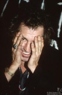 Keith Richards, NYC - 1992