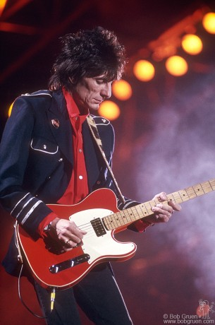 Ronnie Wood, NYC - 1989