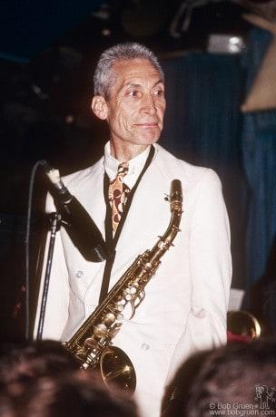 Charlie Watts, NYC - 1991