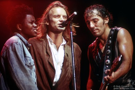 Tracy Chapman, Sting & Bruce Springsteen, PA - 1988