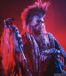 Martin Degville, London - 1986