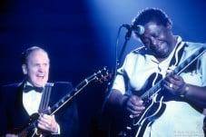 Les Paul and B.B. King, NY - 1988