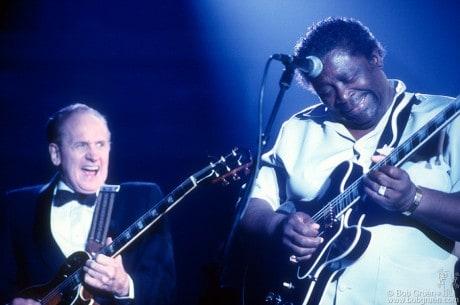Les Paul & B.B. King, NY - 1988