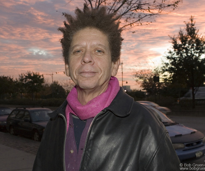 Blondie Chaplin, NYC. October 2006. <P>Image #: C-188  © Bob Gruen