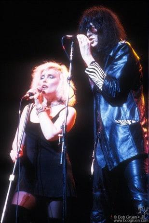Debbie Harry & Joey Ramone, NYC - 1987