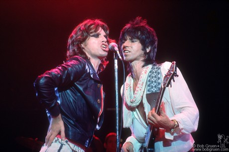Mick Jagger & Keith Richards, LA - 1975