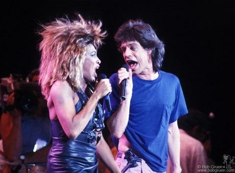 Tina Turner & Mick Jagger, PA - 1985