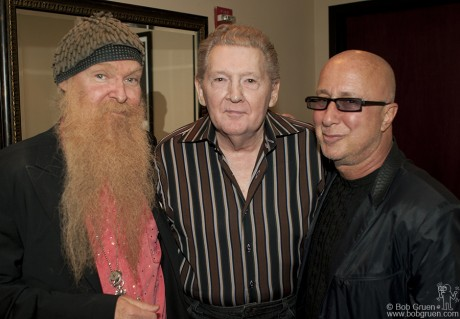 Billy Gibbons, Jerry Lee Lewis & Paul Shaffer, NYC - 2006