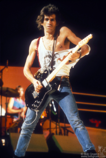Keith Richards, NYC - 1981