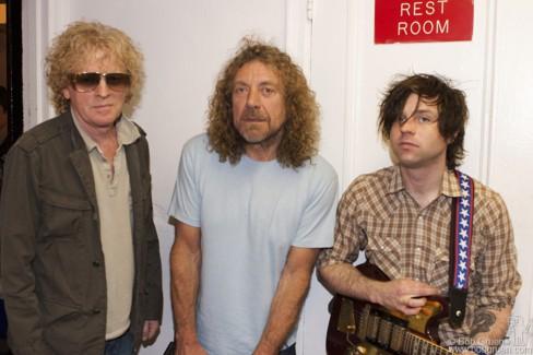 Ian Hunter, Robert Plant and Ryan Adams, NYC - 2006