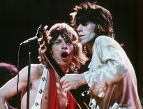Mick Jagger and Keith Richards, NYC - 1972