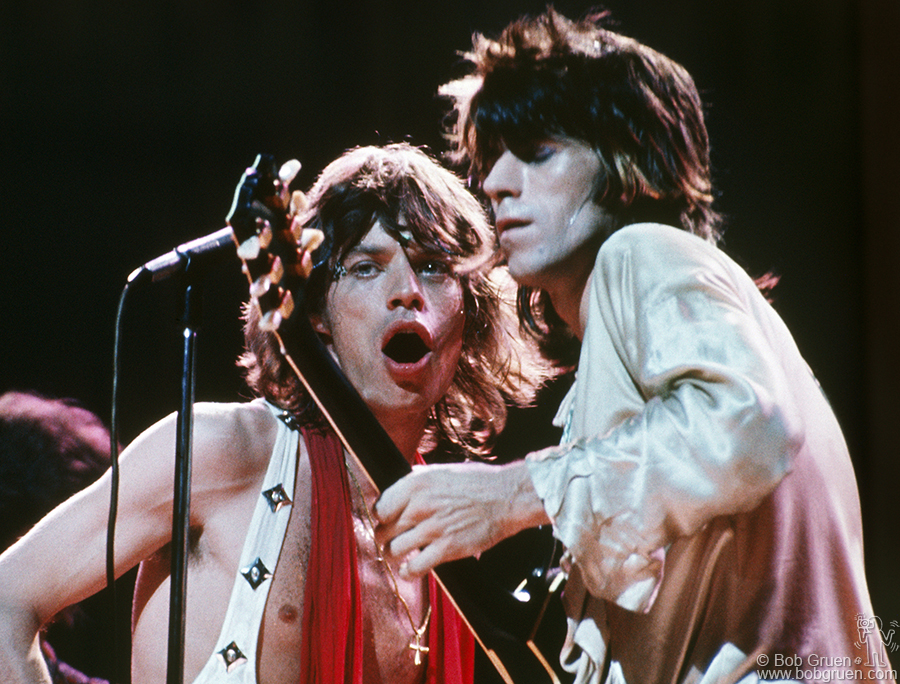 Bob gruen rolling stones mick jagger keith richards nyc 1972 the stones concert at madison square garden in 1972 was the first time workwithnaturefo