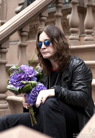 Ozzy Osbourne, NYC - 2010