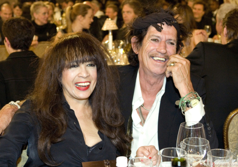 Ronnie Spector and Keith Richards, NYC - 2007